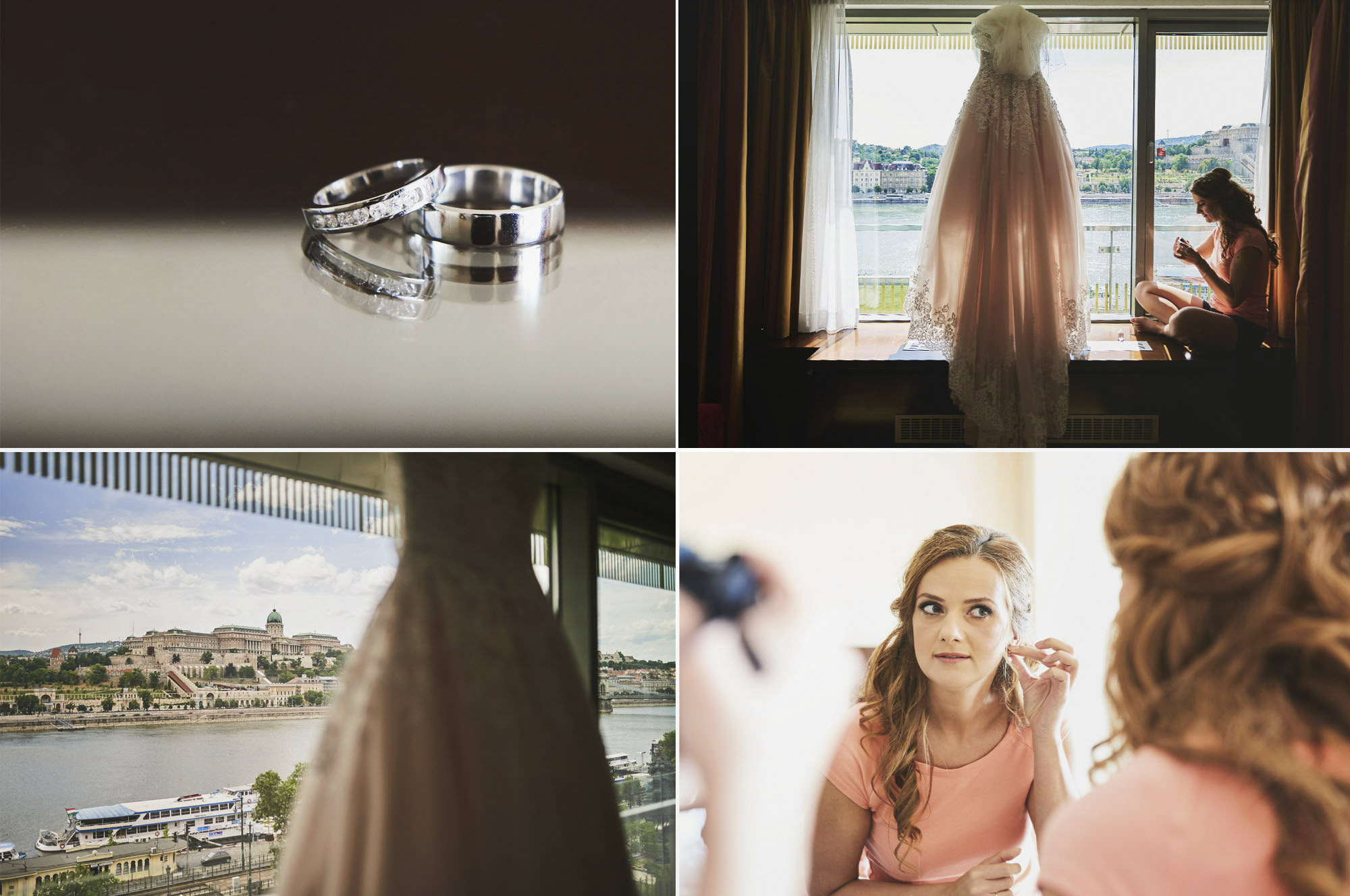 Esküvő fotózás Budapest Marroitt hotel