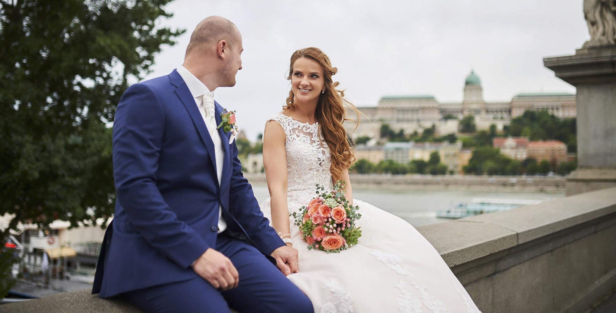 Kreatív esküvő fotózás Budapest