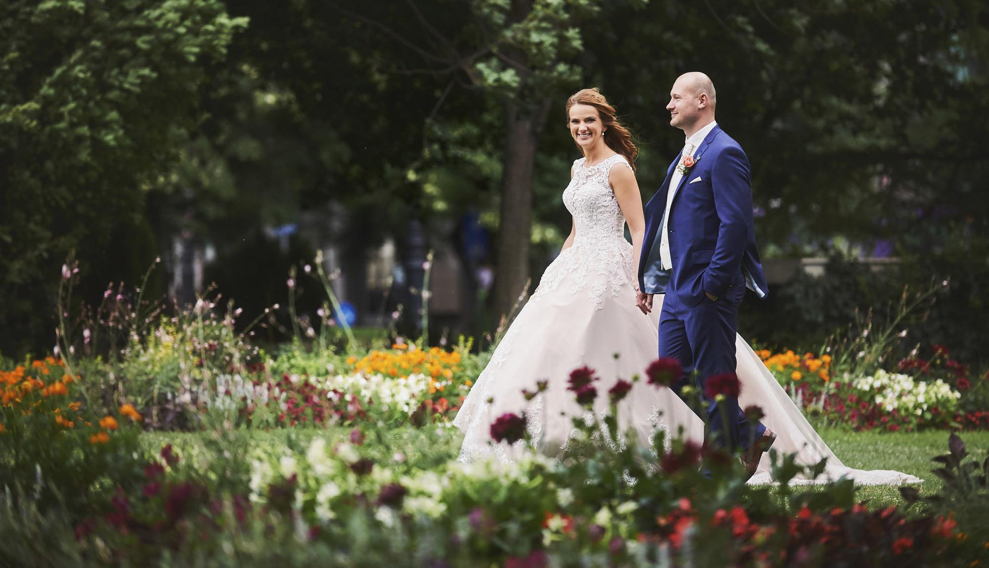 Kreatív esküvői fotózás Budapesten