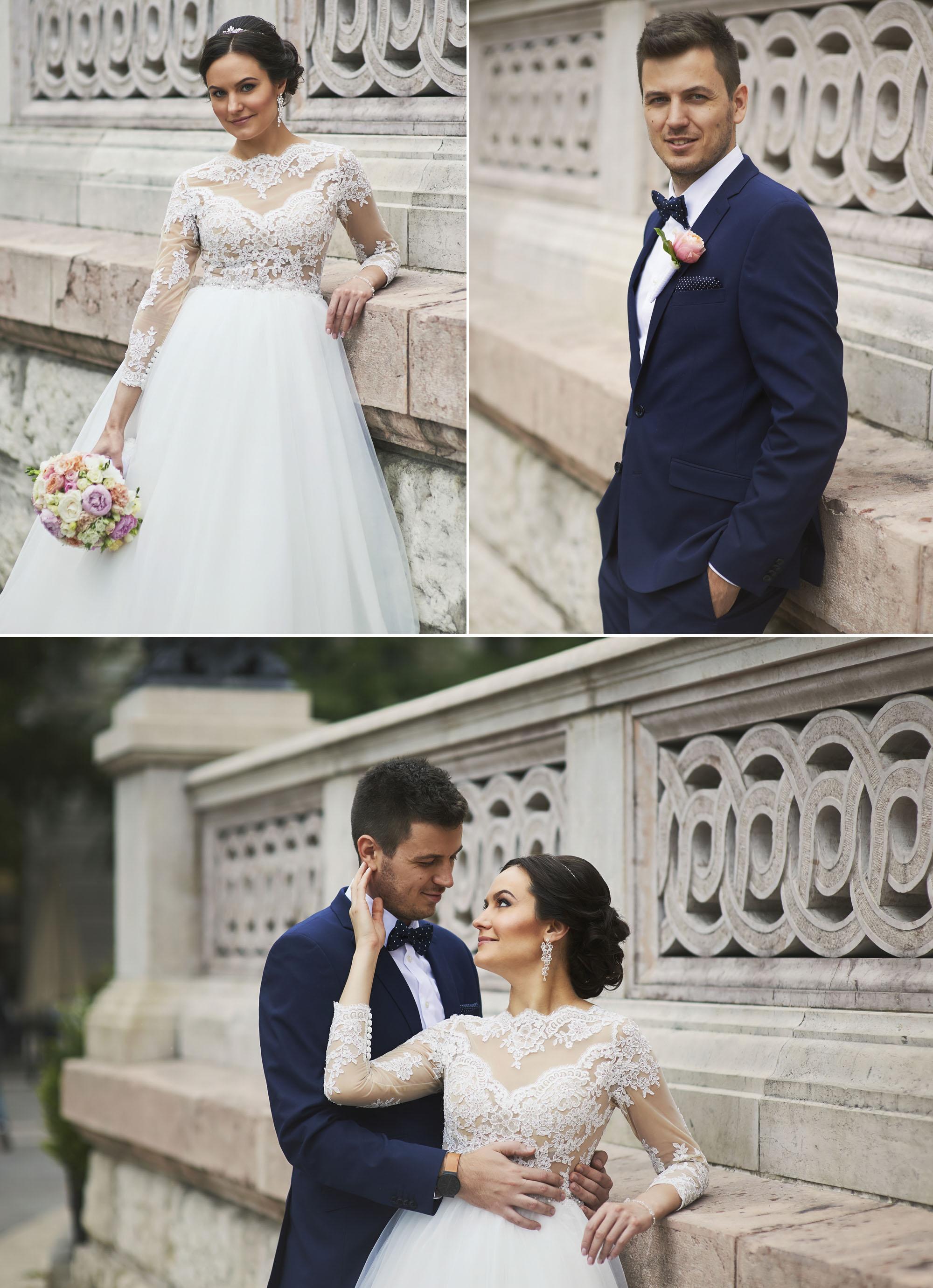 Kreatív esküvői fotózás a Bazilikánál