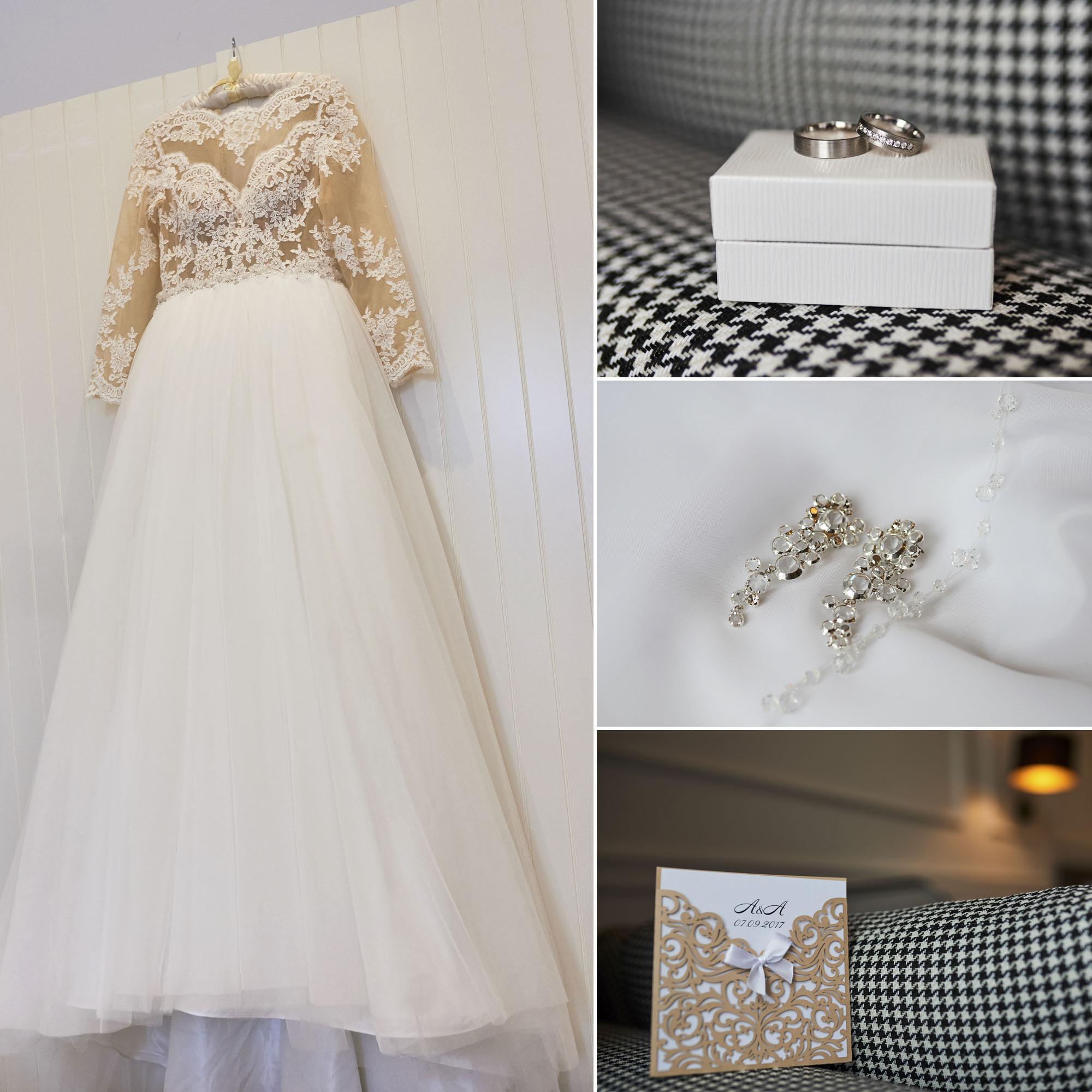 Esküvői készülődés fotózása