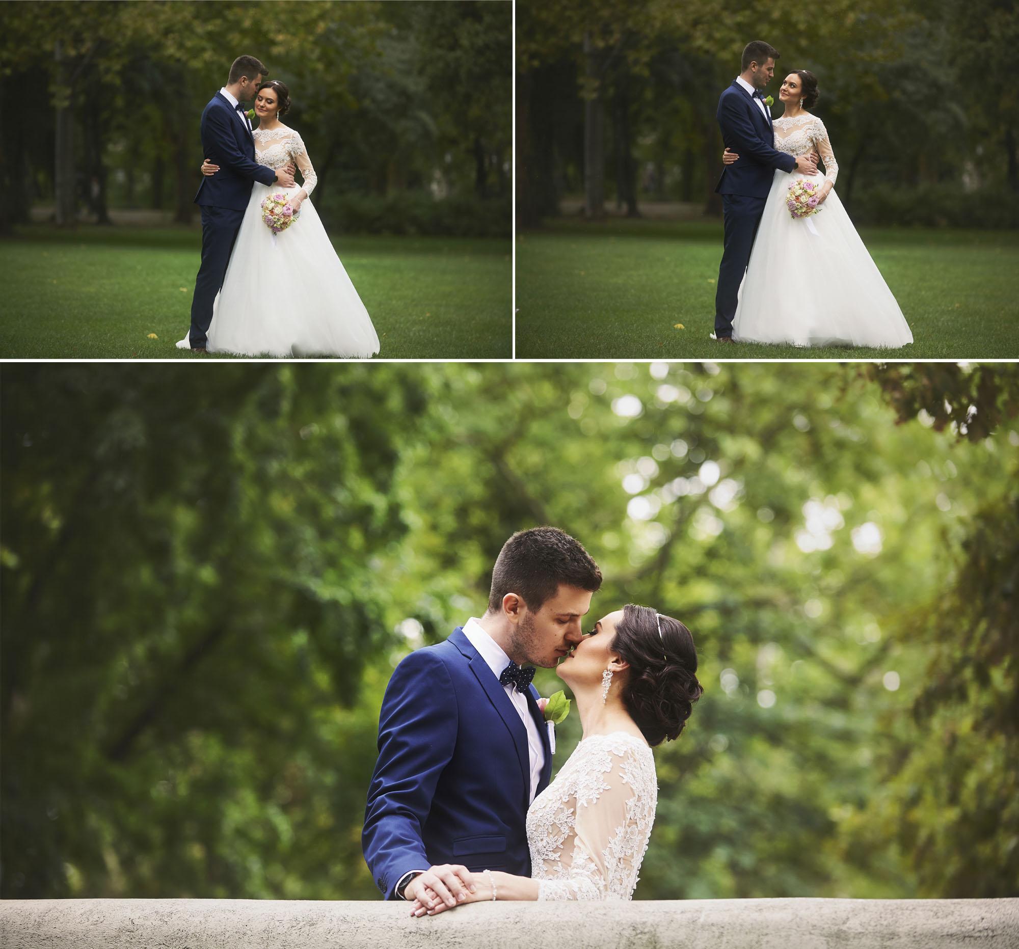 Esküvői fotózás a Városligetben