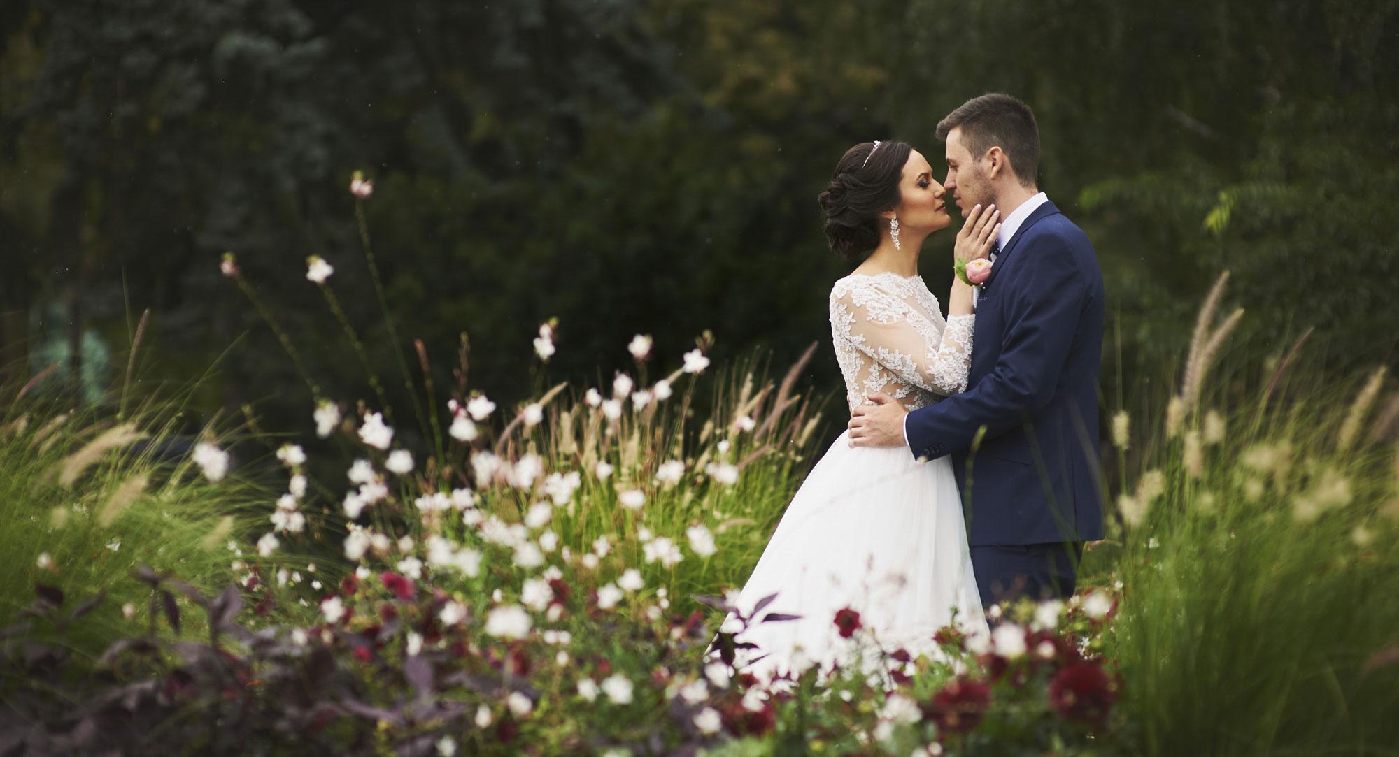 Esküvő fotózás a Clark Ádám térnél