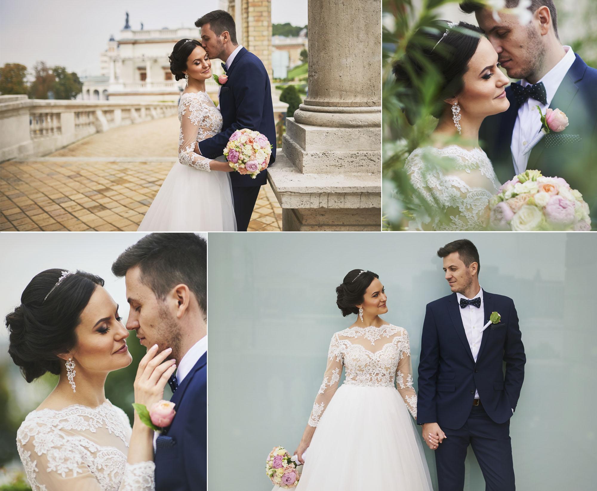 Esküvői fotózás Várkert Bazár