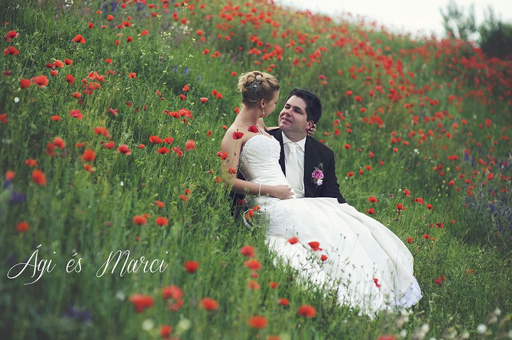 Ági és Marci esküvői fotózás