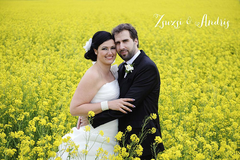 Zsuzsi és Andris esküvői fotók